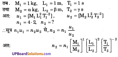 UP Board Solutions for Class 11 Physics Chapter 2 Units and Measurements 2