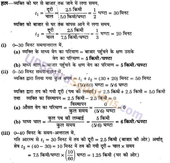 UP Board Solutions for Class 11 Physics Chapter 3 Motion in a Straight Line 17