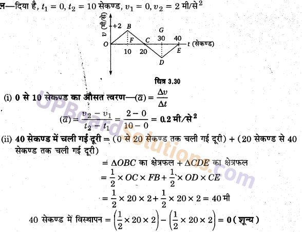 UP Board Solutions for Class 11 Physics Chapter 3 Motion in a Straight Line 72