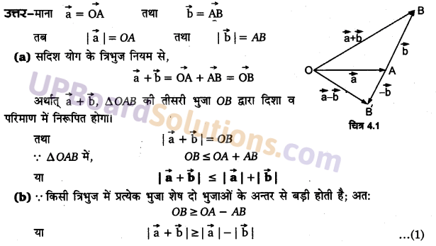 UP Board Solutions for Class 11 Physics Chapter 4 Motion in a plane 2