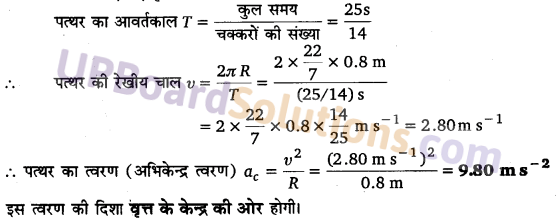 UP Board Solutions for Class 11 Physics Chapter 4 Motion in a plane 22