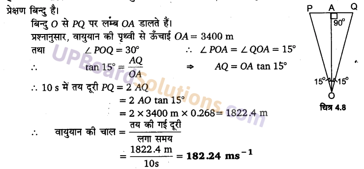 UP Board Solutions for Class 11 Physics Chapter 4 Motion in a plane 31