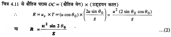 UP Board Solutions for Class 11 Physics Chapter 4 Motion in a plane 46