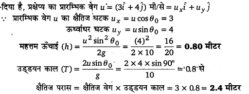 UP Board Solutions for Class 11 Physics Chapter 4 Motion in a plane 50