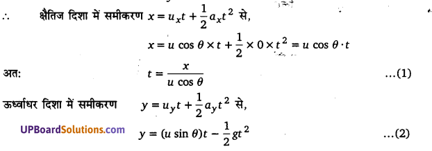 UP Board Solutions for Class 11 Physics Chapter 4 Motion in a plane 63