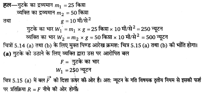 UP Board Solutions for Class 11 Physics Chapter 5 Laws of motion 38