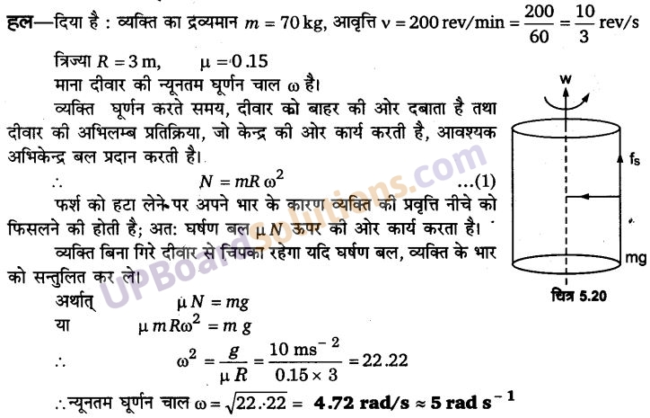UP Board Solutions for Class 11 Physics Chapter 5 Laws of motion 50