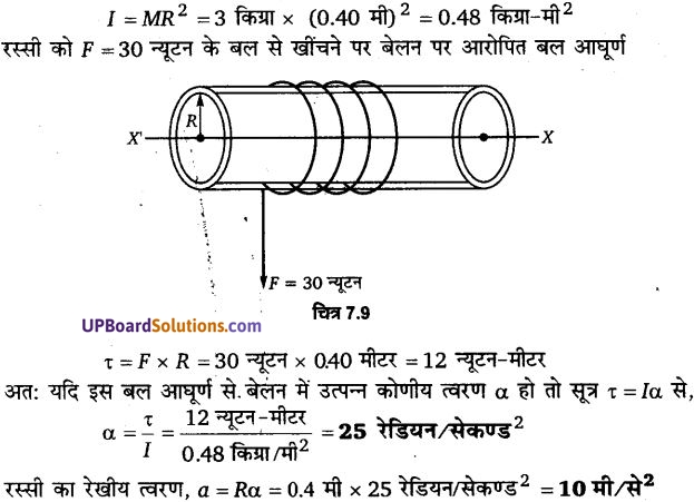 UP Board Solutions for Class 11 Physics Chapter 7 System of particles and Rotational Motion 19