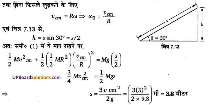 UP Board Solutions for Class 11 Physics Chapter 7 System of particles and Rotational Motion 30