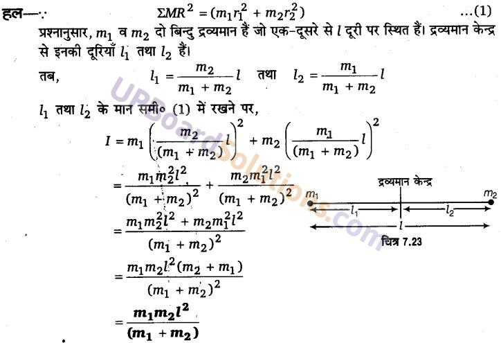 UP Board Solutions for Class 11 Physics Chapter 7 System of particles and Rotational Motion 71