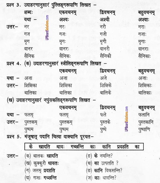 UP Board Solutions for Class 6 Sanskrit Chapter 1 पुनरावलोकनम्-1 5