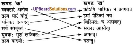UP Board Solutions for Class 7 Hindi Chapter 7 ईश्वरचन्द्रो विद्यासागरः (अनिवार्य संस्कृत) image - 1