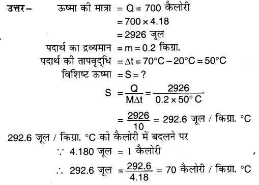 UP Board Solutions for Class 7 Science Chapter 5ऊष्मा एवं ताप 14