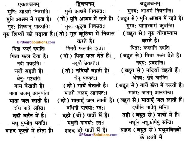 UP Board Solutions for Class 7 sanskrit chapter 1 पुनरावलोकनम् 1