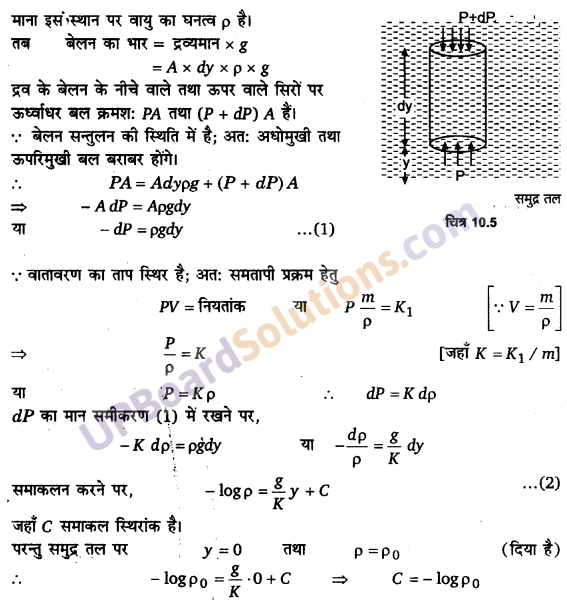 UP Board Solutions for Class 11 Physics Chapter 10 Mechanical Properties Of Fluids 28