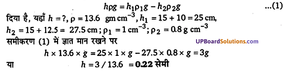 UP Board Solutions for Class 11 Physics Chapter 10 Mechanical Properties Of Fluids 5