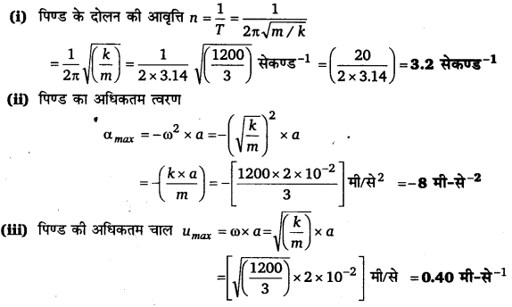 UP Board Solutions for Class 11 Physics Chapter 14 Oscillations 10