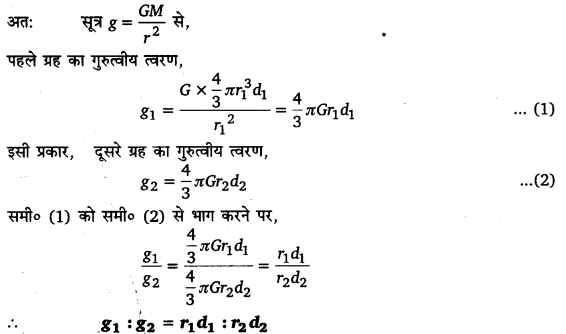 UP Board Solutions for Class 11 Physics Chapter 8 Gravitation 34