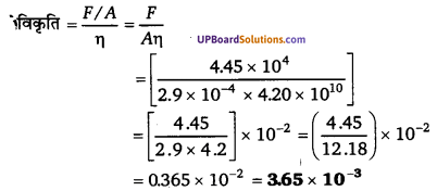 UP Board Solutions for Class 11 Physics Chapter 9 Mechanical Properties Of Solids 10