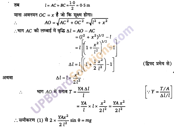 UP Board Solutions for Class 11 Physics Chapter 9 Mechanical Properties Of Solids 24