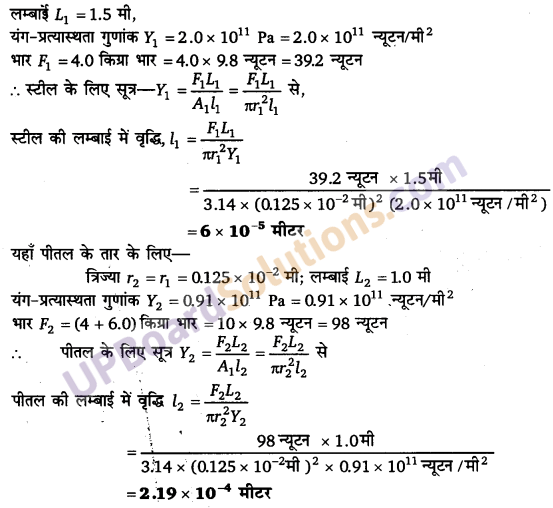 UP Board Solutions for Class 11 Physics Chapter 9 Mechanical Properties Of Solids 6