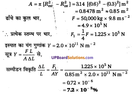 UP Board Solutions for Class 11 Physics Chapter 9 Mechanical Properties Of Solids 8