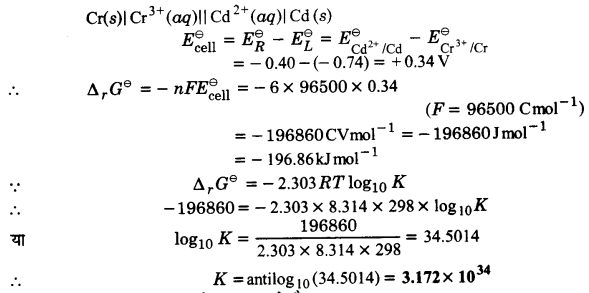 UP Board Solutions for Class 12 Chemistry Chapter 3 Electro Chemistry image 11