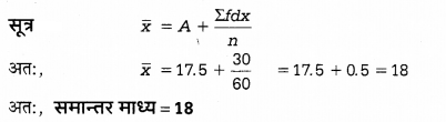 UP Board Solutions for Class 12 Economics Chapter 27 Measure of Central Tendency Arithmetic Mean 11