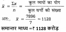 UP Board Solutions for Class 12 Economics Chapter 27 Measure of Central Tendency Arithmetic Mean 38