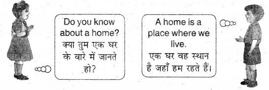 UP Board Solutions for Class 3 English Rainbow Chapter 12 My Home 1