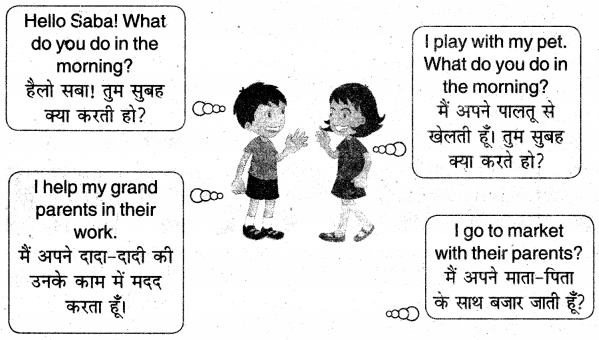 UP Board Solutions for Class 3 English Rainbow Chapter 8 Let's Do Some Actions 1