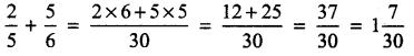 UP Board Solutions for Class 4 Maths गिनतारा Chapter 12 भिन्नों का जोड़-घटाना 16