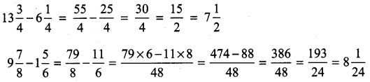UP Board Solutions for Class 4 Maths गिनतारा Chapter 12 भिन्नों का जोड़-घटाना 22