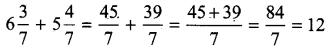 UP Board Solutions for Class 4 Maths गिनतारा Chapter 12 भिन्नों का जोड़-घटाना 42