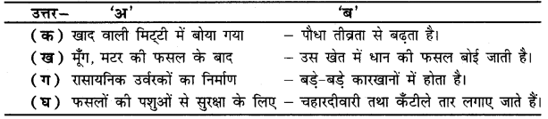 UP Board Solutions for Class 4 Science Parakh Chapter 10 मिट्टी के प्रकार, फसलें तथा भण्डारण 1