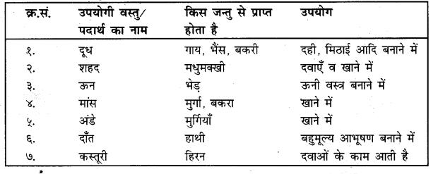 UP Board Solutions for Class 4 Science Parakh Chapter 2 पौधों और जंतुओं की उपयोगिता तथा उनकी देखभाल 3