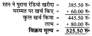 लाभ - हानि कक्षा 5 गणित गिनतारा | UP Board Solutions for Class 5 Maths Gintara Chapter 10