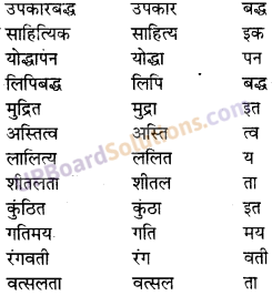 UP Board Solutions for Class 10 Hindi प्रत्यय img-2