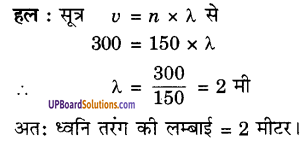 UP Board Solutions for Class 9 Science Chapter 12 Sound