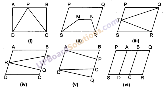 UP Board Solutions for Class 9 Maths Chapter 9 Area of ​​Parallelograms and Triangles img-1