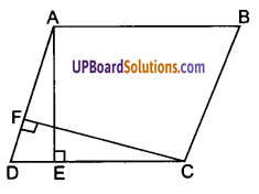 UP Board Solutions for Class 9 Maths Chapter 9 Area of ​​Parallelograms and Triangles img-2