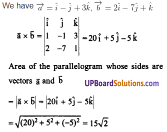 UP Board Solutions for Class 12 Maths Chapter 10 Vector Algebra image 87