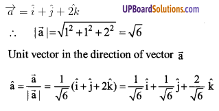 UP Board Solutions for Class 12 Maths Chapter 10 Vector Algebra image 14