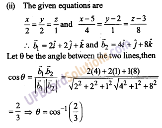 UP Board Solutions for Class 12 Maths Chapter 11 Three Dimensional Geometry image 22