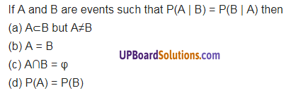 UP Board Solutions for Class 12 Maths Chapter 13 Probability image 19a