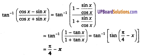UP Board Solutions for Class 12 Maths Chapter 2 Inverse Trigonometric Functions image 30a