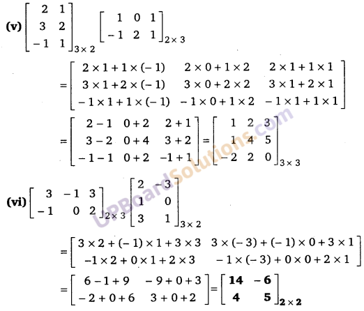 UP Board Solutions for Class 12 Maths Chapter 3 Matrices image 20