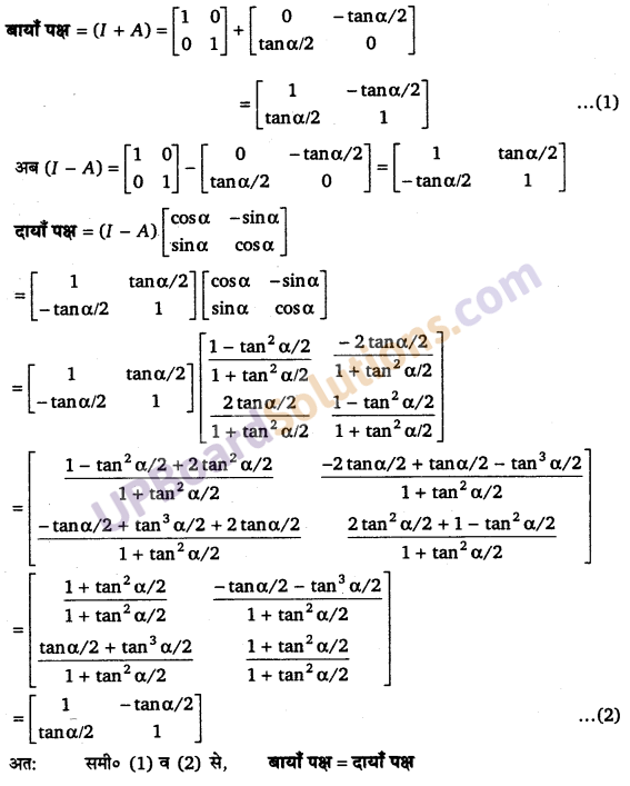 UP Board Solutions for Class 12 Maths Chapter 3 Matrices image 48