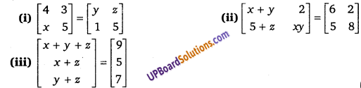 UP Board Solutions for Class 12 Maths Chapter 3 Matrices image 7