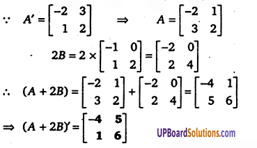 UP Board Solutions for Class 12 Maths Chapter 3 Matrices image 60